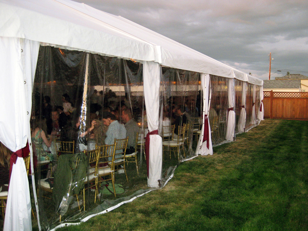 Tent Amp Canopy Sidewalls Rental For Burlington Bellingham