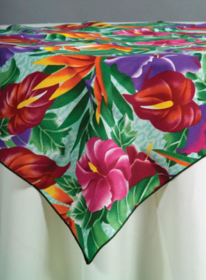 Print Linen Amp Tablecloth Rental Pacific Party Canopies