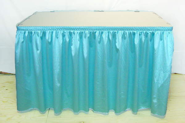 Seattle Bellingham, Everett, Burlington,   seattle  runner Rental Skirt for Table table rentals