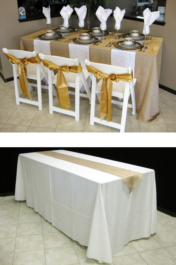 How To Choose The Right Table Linen Size For Your Wedding