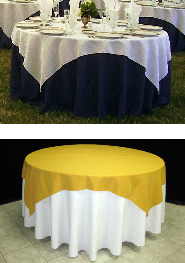 Choosing The Right Tables Amp Linens Benson Tent Rent
