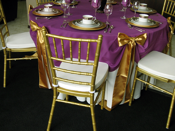 48 inch round table How to Choose the Right Table Linen Size for Your Wedding or Event  48 inch round table