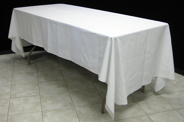 Pacific Party Canopies Choosing Linen, What Size Tablecloth For A 8 Foot Banquet Table