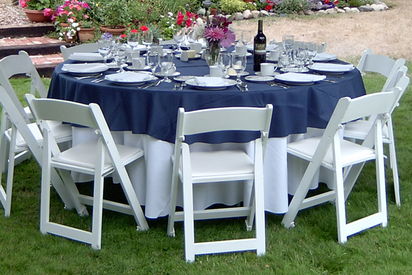 60 inch round table How to Choose the Right Table Linen Size for Your Wedding or Event  60 inch round table